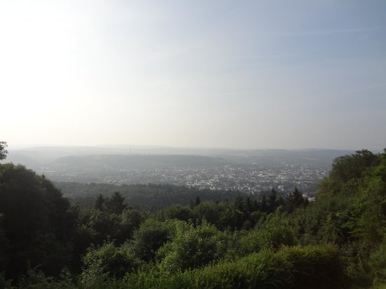 Berghotel Kockelsberg: view from breakfast