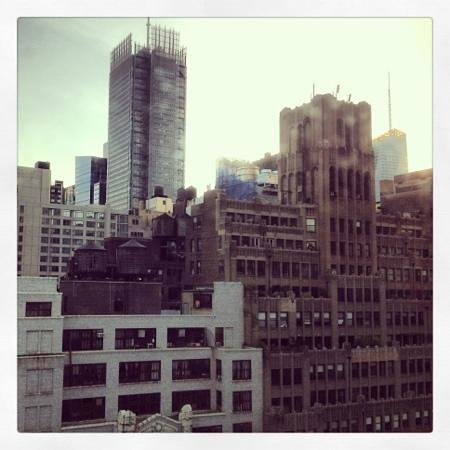 TRYP HOTEL NYC - Times Square South by Wyndham: daytime view from my room!