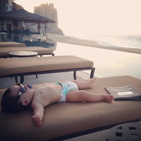Grand Solmar Land's End Resort & Spa: Nate deserves this well rested vacation after spending 9 mos in the dark...