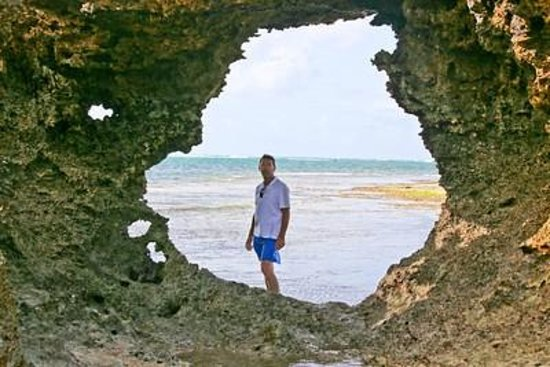 ManFriday's Mida Cove: Exploring the tidal beach, coral structures