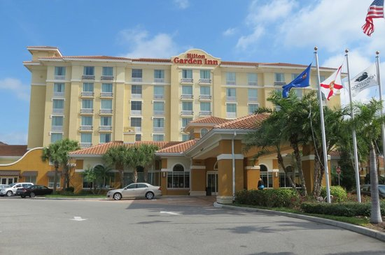 Hilton Garden Inn Lake Buena Vista/Orlando: entrada principal