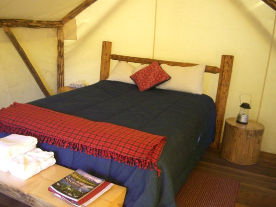 Moose Creek Ranch: Glamping Tent #4 Interior