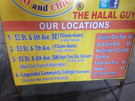 53rd & 6th Halal: location