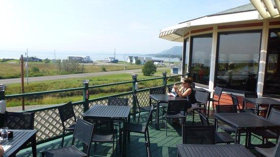 Restaurant Le Heron : Terrasse