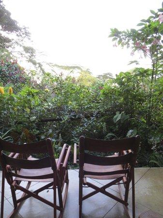 Lost Iguana Resort & Spa: Room's deck