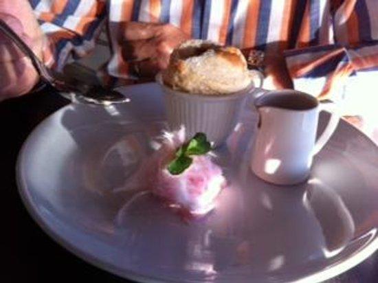 Glass Dining and Lounge Bar : Orange, Cinnamon & Chilli Souffle!