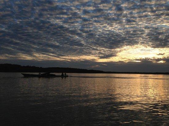 Libertad Jungle Lodge: The sunrise of Amazon