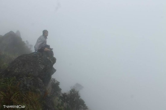 Mt Banahaw: It's me at the summit
