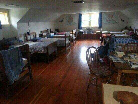 Sitka International Hostel: the male dormitory