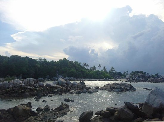 Bangka Island, Endonezya: Parai Beach