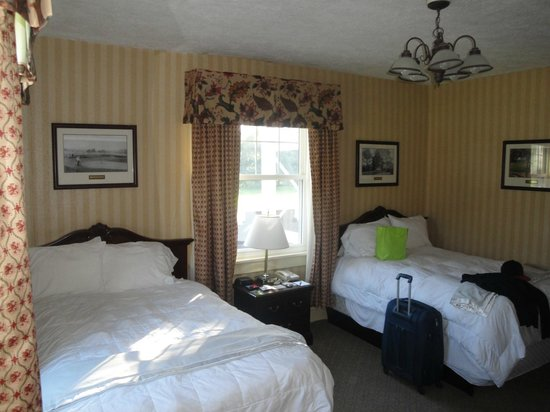 The Shawnee Inn and Golf Resort: Double Room