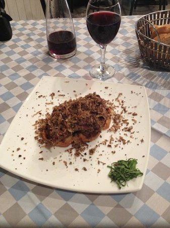 San Francesco e Il Lupo: Beef Filet with Truffle