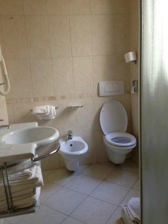 Hotel San Marco: Bagno in camera