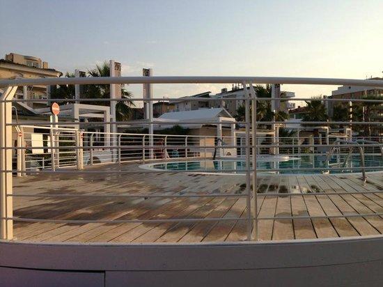 Hotel San Marco: Piscina convenzionata presso i Bagni Stella Marina