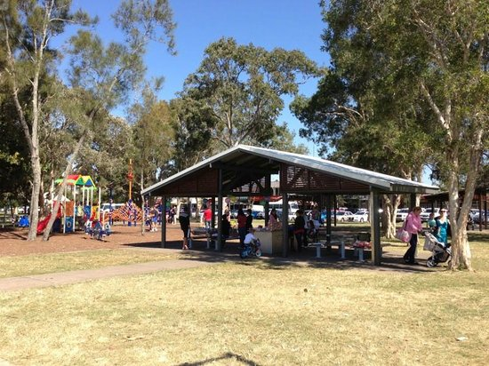 Paradise Point Parklands: Undercover area near children's playground