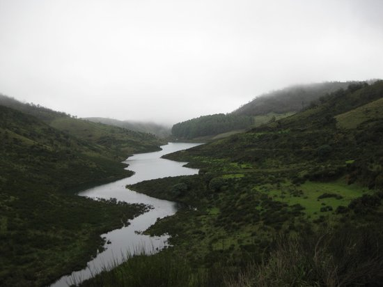 Upper Bhavani Lake: Distant View of upper Bhavani
