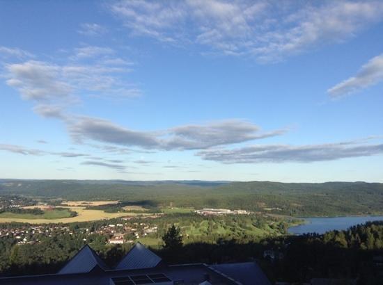 Scandic Holmenkollen Park: the view from jr suite terrace