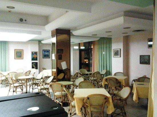 Hotel Rosa del Deserto: La hall