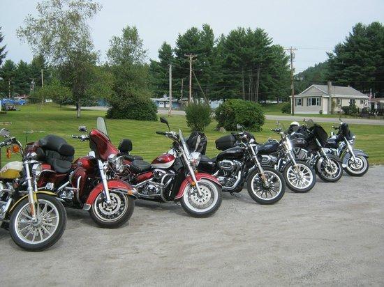 Newport Motel: motorcycle friendly