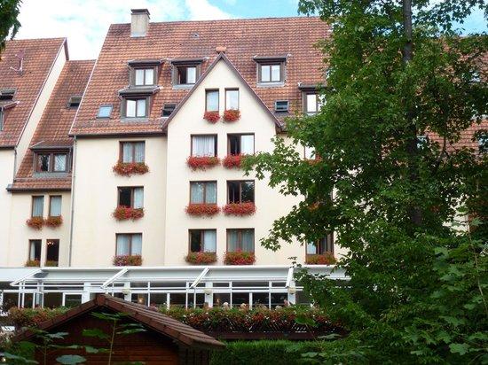 Hotel Restaurant Spa Verte Vallee : vue de l'hotel