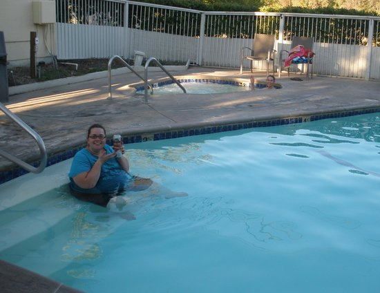 Comfort Inn Calistoga, Hot Springs of the West: Pool/spa
