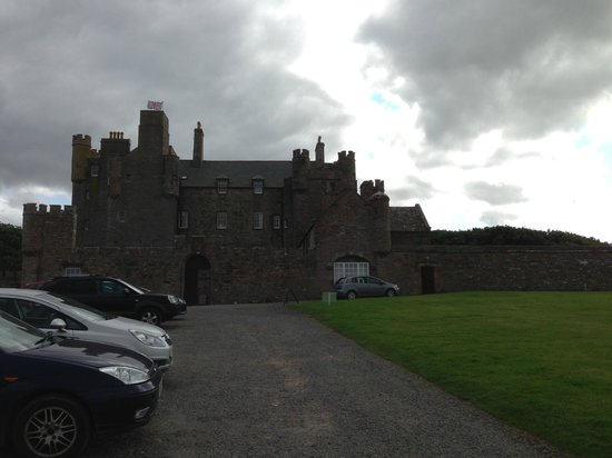 The Castle and Gardens of Mey: Rear view