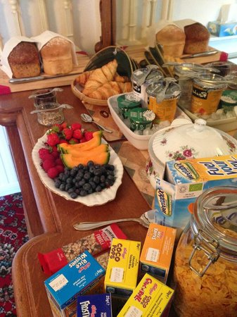 Duntroon Bed and Breakfast: Breakfast