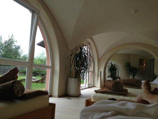 Hotel Corona La Magia dei Cristalli: Sala relax
