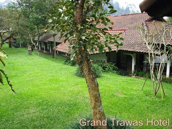 Grand Trawas Resort Mojokerto: Garden