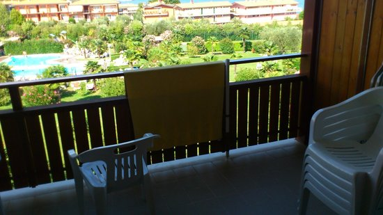 Residence Apparthotel San Sivino: View from our room