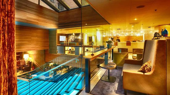 Klaus K Hotel: Reception view