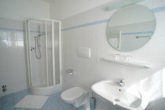 Weihergut: Badezimmer im Haupthaus