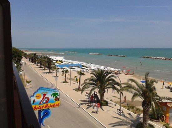 Hotel Cristal: lungo mare