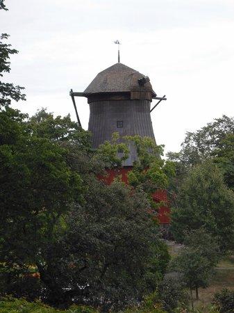 мельница у музея Prins Eugens Waldemarsudde