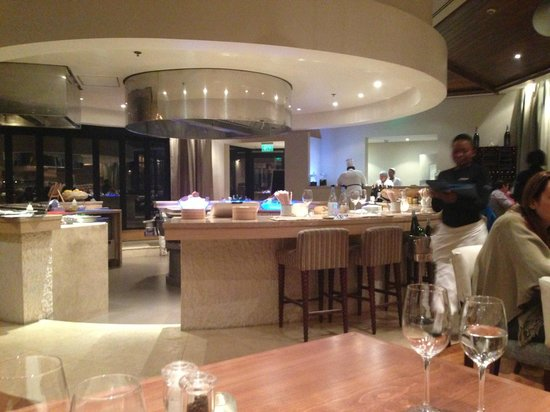 Oubaai Hotel Golf & Spa: Seafood Restaurant