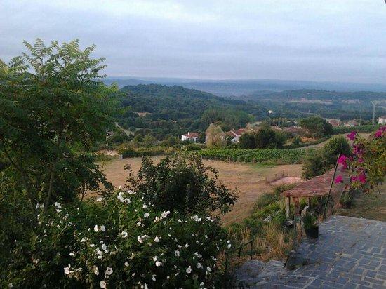 Casa Dos Muros: Paisaje desde el balcón de la habitación