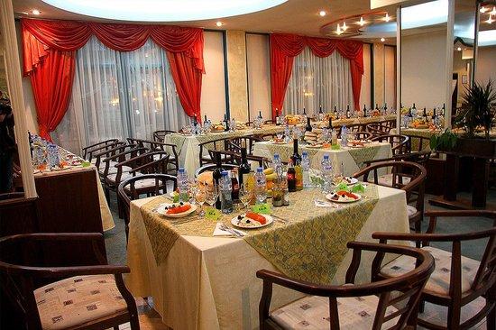 Hotel Rahovets: The restaurant