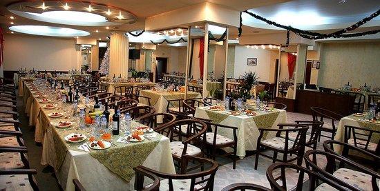 Hotel Rahovets: Restaurant