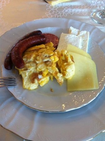 Hotel Cavaler: breakfast