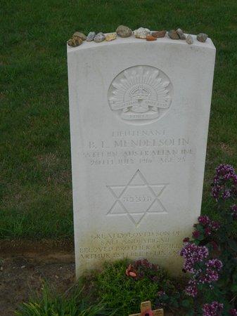 Pheasant Wood Military Cemetery: Tombe juive