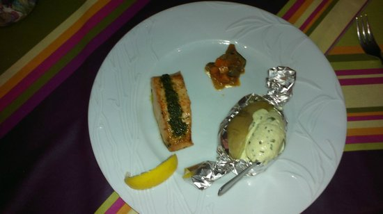 Restaurant Aubergine : Saumon