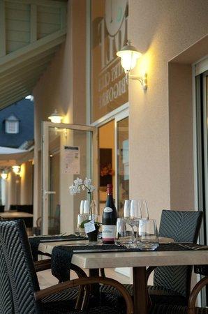 Restaurant Natur'élément : Terrasse du restaurant