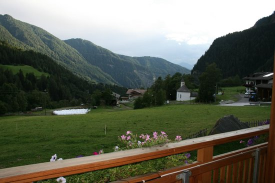 Bacherhof: vistas desde el balcon de la habitacion Leitenhof
