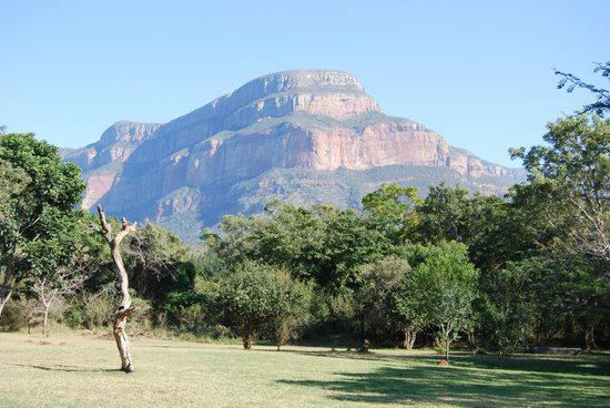 Blyde River Canyon Lodge: view from the seating area