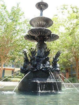 Disney's Port Orleans Resort - French Quarter : Beaux jardins