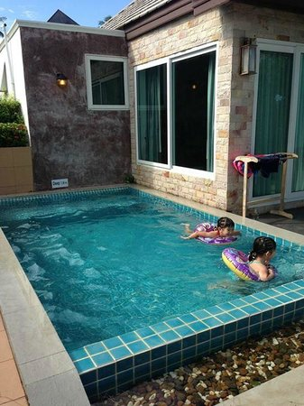 Sea Valley Hotel and Spa : private pool