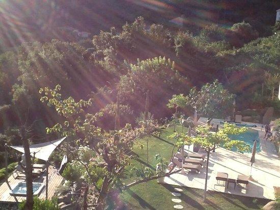 Cas'Anna Lidia : vue du balcon
