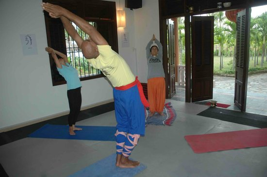 yoga teaching at Essence of health