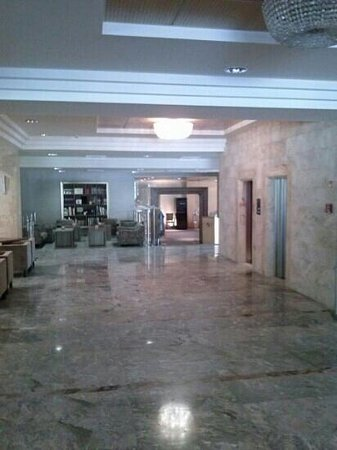 Hotel Brdo: reception
