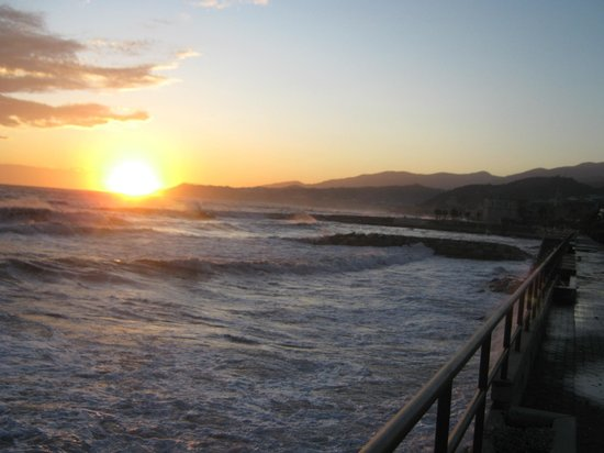 Albergo Lucciola : Santo Stefano al mare in inverno